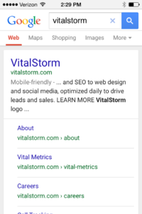VitalStorm Mobile-Friendly Website Marketing