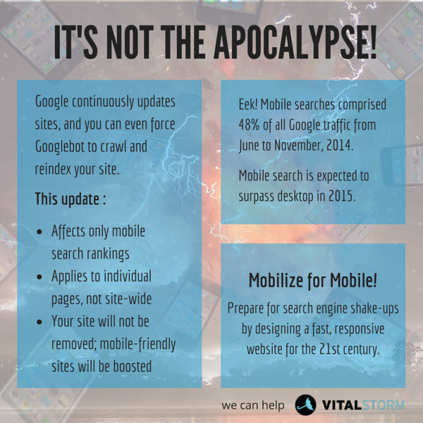 Not Mobilegeddon the mobile apocalypse