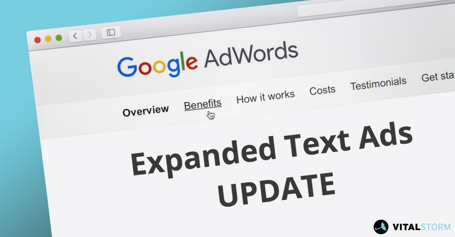 standard text ads vs expanded text ads - Google Bing Update