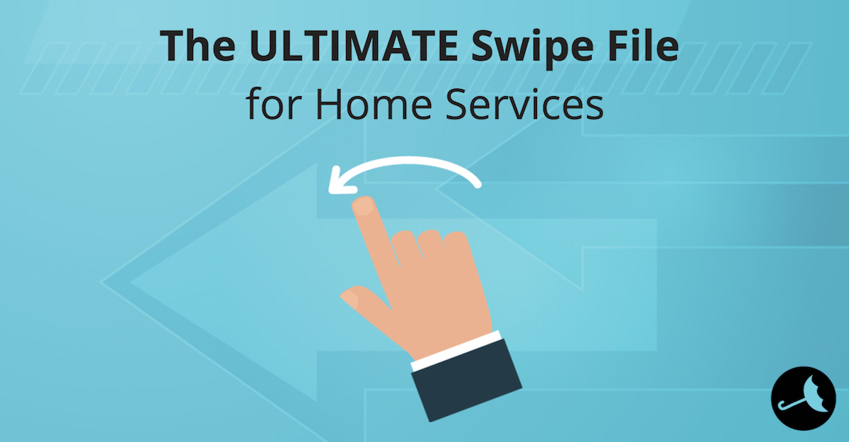 steal this swipe file for home service business (HVAC, Plumbing, Electrical)
