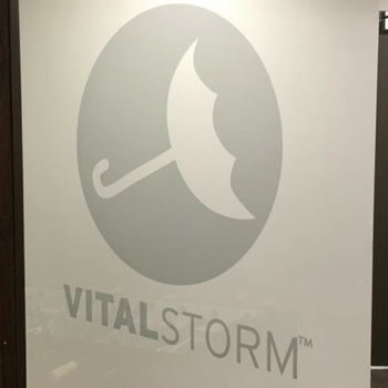 VS Logo Door