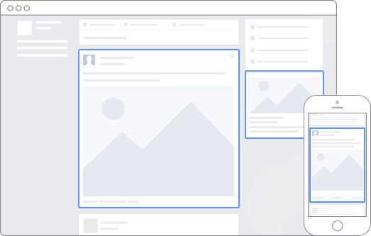 How Facebook Advertisements Appear on Desktop and Mobile