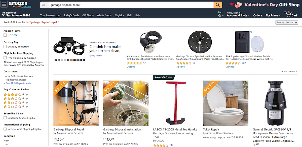 Ordering Amazon Home Services - VitalStorm