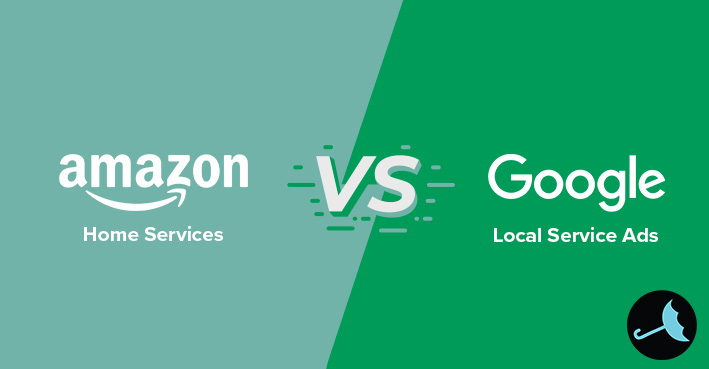 amazon home services vs google local services ads