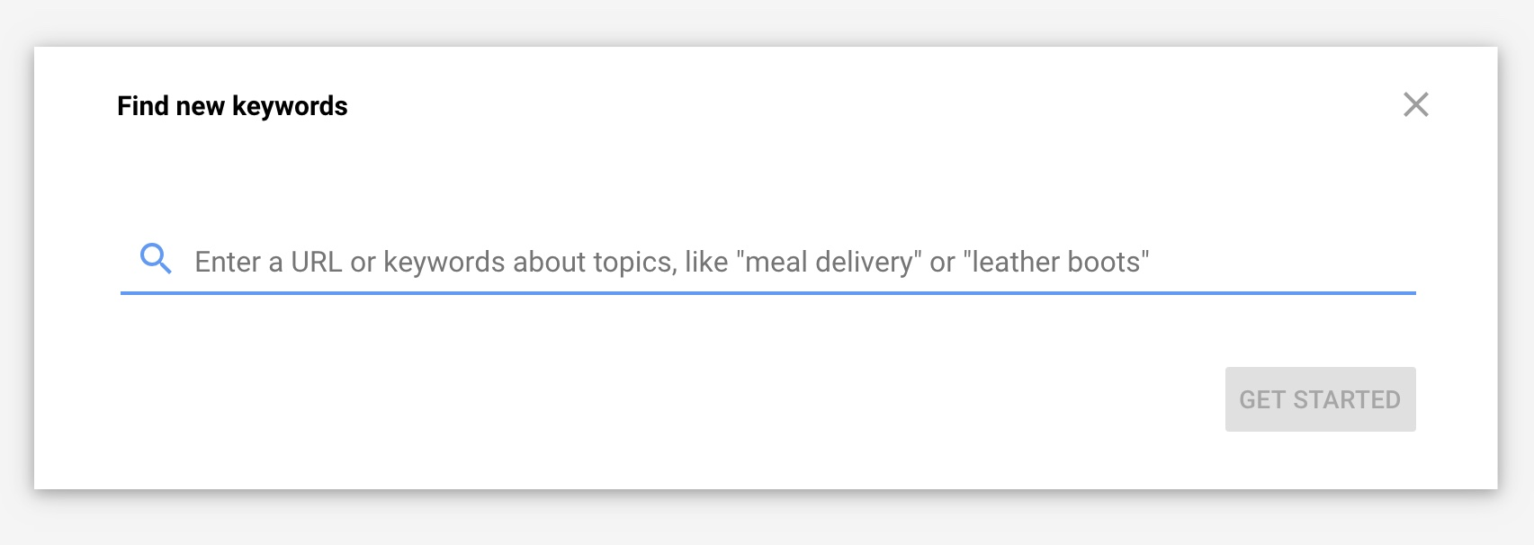 Find new keywords with Google Keyword Planner - VitalStorm