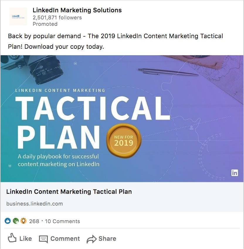 Social media lead magnet example - VitalStorm